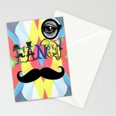 Fancy Font Stationery Cards