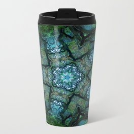 Lost in Moss Metal Travel Mug
