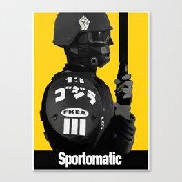 Sporto Propaganda  Canvas Print