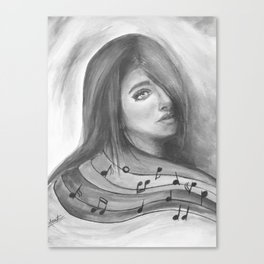 Undiscovered Melody Of the Life Canvas Print
