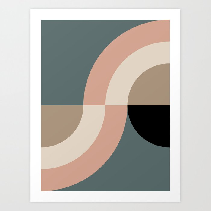 Contemporary Composition 33 Art Print
