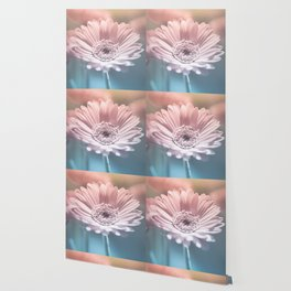 Pastel Gerbera Wallpaper