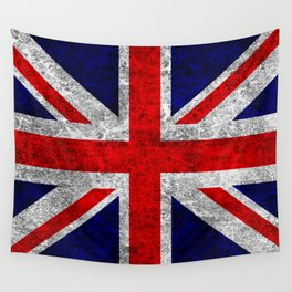Union Jack Grunge Flag Wall Tapestry