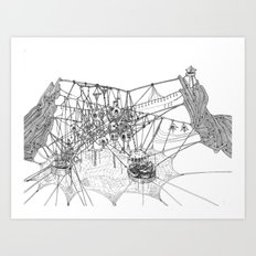 City #1: Fraboo Art Print