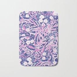 Tropical Daydream Blue Blush Bath Mat