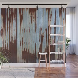 Northport Stripes (23blue) Wall Mural