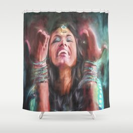 Dancer in Motion Shower Curtain