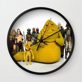 Jabba & The Crew Wall Clock