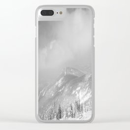 Winter day 7 Clear iPhone Case