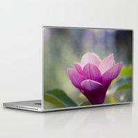 magnolia Laptop & iPad Skins featuring magnolia by Sharon Mau