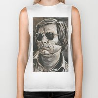 phil jones Biker Tanks featuring Jones by Buddy Owens Paintings