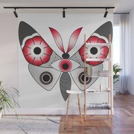 Butterfleye Wall Mural