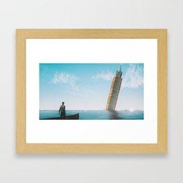 Acqua Alta Framed Art Print