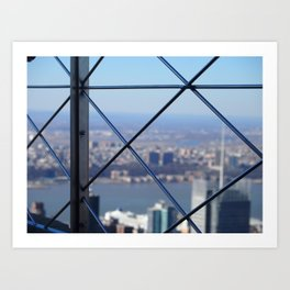 Empire State Building Bars  Art Print