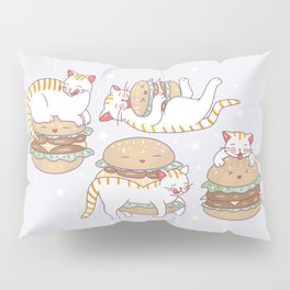 Cat burgers Pillow Sham