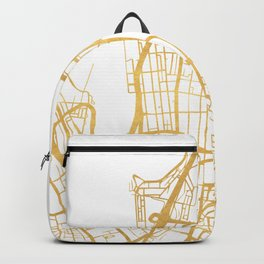 SYDNEY AUSTRALIA CITY STREET MAP ART Backpack