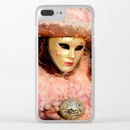 Mask III Clear iPhone Case