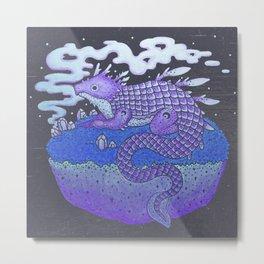 Fey Dragon Metal Print