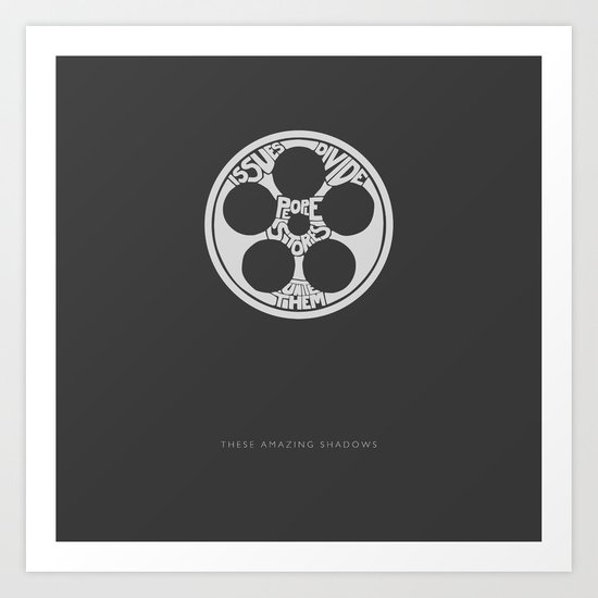 Issues Divide People. Stories Unite Them. -These Amazing Shadows Art Print