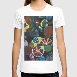 Abstract Fruits T-shirt