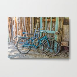 Let's Go For A Ride Metal Print