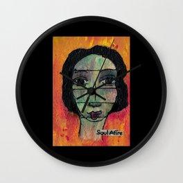 Soul Afire Wall Clock