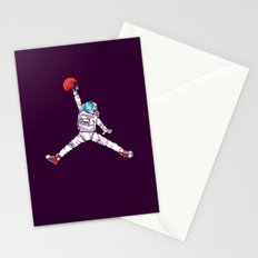 space dunk (purple ver.) Stationery Cards