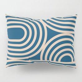 Abstraction_WAVE_GRAPHIC_VISUAL_ART_Minimalism_001 Pillow Sham