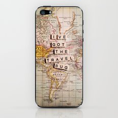 I've got the travel bug iPhone & iPod Skin