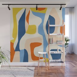 Me & Mine #abstract #painting Wall Mural