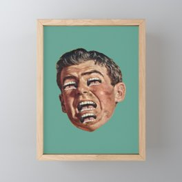 Aaaaaahhhhhh Framed Mini Art Print