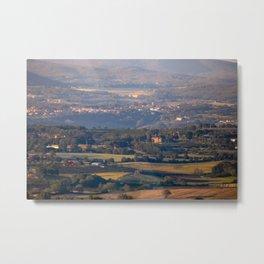 Italian countryside view Metal Print