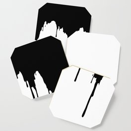 Dripping Ink Coaster