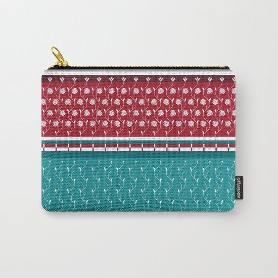 Winterflower Carry-All Pouch