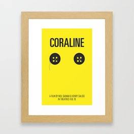 Coraline Framed Art Print