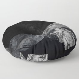 Behold the Sky Floor Pillow