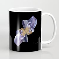 bow Mugs featuring Bow by lightningMade