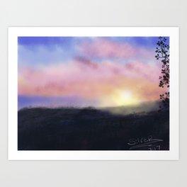 Broadchurch Sunrise Art Print