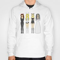 mean girls Hoodies featuring Mean Girls Halloween by CozyReverie