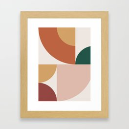 Abstract Geometric 13 Framed Art Print