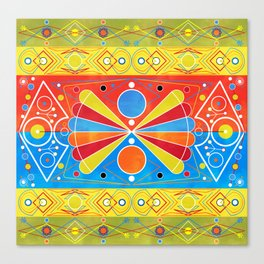 Chiva pattern Canvas Print
