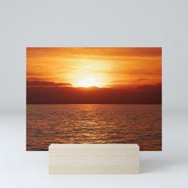 Desert Sunset Mini Art Print