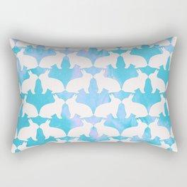 Bunny Hop Rectangular Pillow