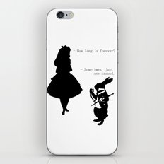 How long is forever? iPhone & iPod Skin