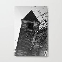 The Spire Metal Print