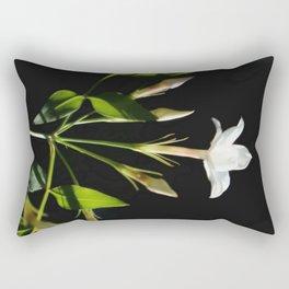 Close Up Of Jasminum Officinale Rectangular Pillow