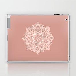 Flower Mandala in Peach and Powder Pink Laptop & iPad Skin