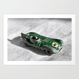 Toy Racing Car Art Print