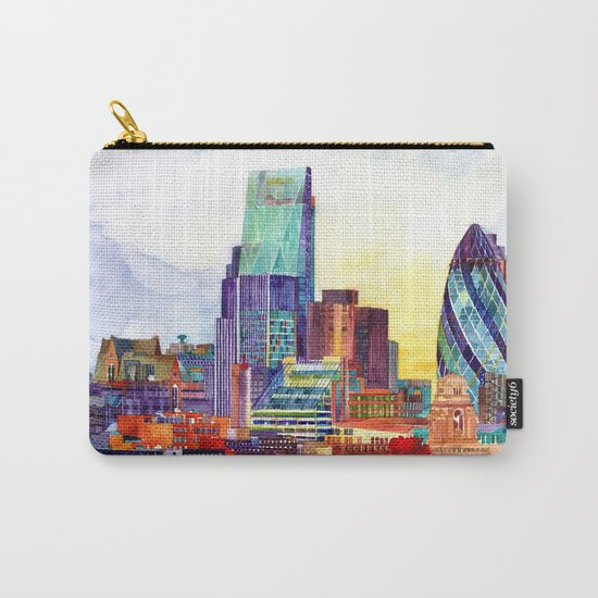 Sunshine in London Carry-All Pouch