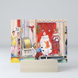 12,000pixel-500dpi - Fernand Pelez - Grimaces and misery - The Saltimbanques Mini Art Print